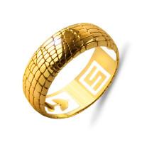 Золотое кольцо обручальное ШЛКЭБ-802
