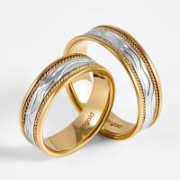 Золотое кольцо обручальное ЛД0211200100236