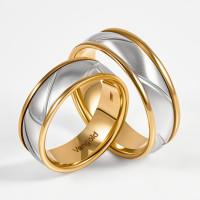 Золотое кольцо обручальное ЛД0211200100245
