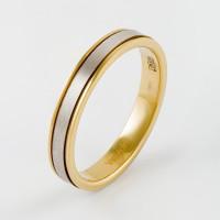 Золотое кольцо обручальное ЛД0211200100316