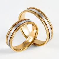 Золотое кольцо обручальное ЛД0211200100317