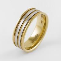 Золотое кольцо обручальное ЛД0211200100327