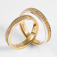Золотое кольцо обручальное ЛД0211200100392