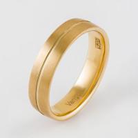 Золотое кольцо обручальное ЛД0211000100370