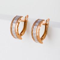 Золотые серьги ГГСРГ0203