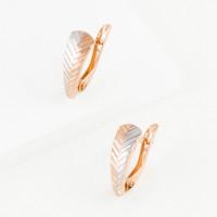Золотые серьги ГГСРГ0603