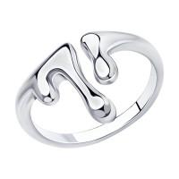 Серебряное кольцо ДИ94013147