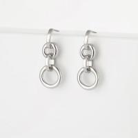 Серебряные серьги гвоздики ЗК6001473-00245