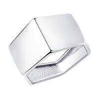 Серебряное кольцо ДИ94013214