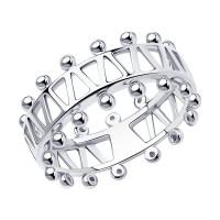 Серебряное кольцо ДИ94013137