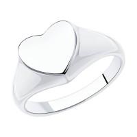 Серебряное кольцо ДИ94013193