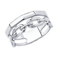 Серебряное кольцо ДИ94013219