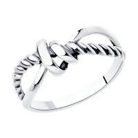 Серебряное кольцо ДИ95010154