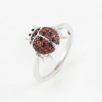 Серебряное кольцо с фианитами ВПК40КЛ