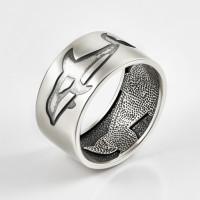 Серебряное кольцо ЗК0101596-00245