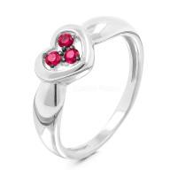 Серебряное кольцо с фианитами РОК-7220Р215