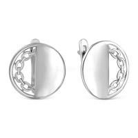 Серебряные серьги РОС-3888-Р