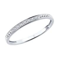 Золотое кольцо с бриллиантами ДИ1011807
