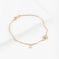 Золотой браслет с фианитами ЮИБр332-4715-Л4