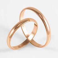 Золотое кольцо обручальное ПЗ170025