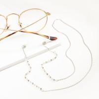 Бижутерная цепочка с жемчугом синтетическим 9Ы700200250-40