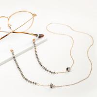 Бижутерная цепочка с ювелирным стеклом и стразами 9Ы700200320-2