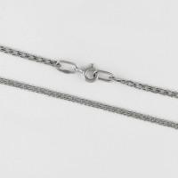 Серебряная цепочка ЧЮ111040Р тройной ромб