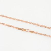 Золотая цепочка ЛШЦ410 плетение Сингапур