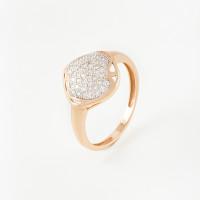 Золотое кольцо с бриллиантами СК2201301