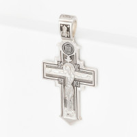 Серебряный крест ЭФКС-413