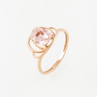 Золотое кольцо с ситалом 5Э100200109Вмгп