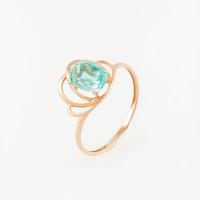 Золотое кольцо с ситалом 5Э100200109З