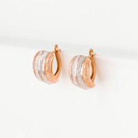 Золотые серьги МЦЕ10010-012-1
