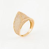 Золотое кольцо с фианитами МЦУУЗ0346
