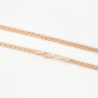 Золотая цепочка ЭОЦ101050 плетение Гарибальди