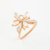 Золотое кольцо с фианитами 2БКЗ5К.1-01-1141-01