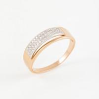 Золотое кольцо с фианитами 2БКЗ5К.1-01-1060-01