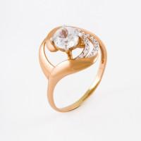 Золотое кольцо с фианитами ЕН20-02-0009-06224