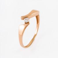 Золотое кольцо с фианитами ЕН20-02-0001-07227