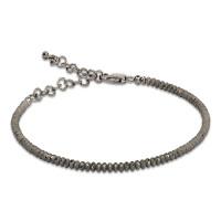 Серебряный браслет с эмалью ШШСГ03001ГР