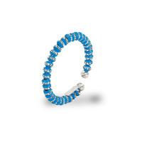 Серебряное кольцо с эмалью ШШСГ02010АЗ