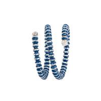 Серебряное кольцо с эмалью ШШСГ02021БЛН