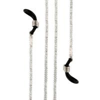 Серебряная цепочка с эмалью женская