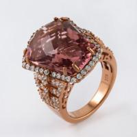 Серебряное кольцо с фианитами СЙРДС128-27
