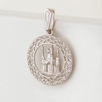 Серебряная мечеть с фианитами