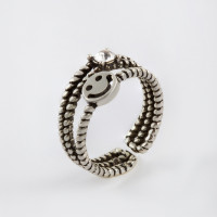 Бижутерное кольцо с ювелирным сплавом