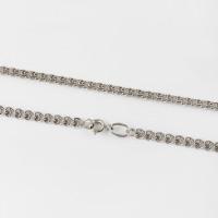 Серебряная цепочка плетение Лав
