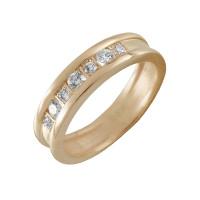 Золотое кольцо с бриллиантами КТЗК-90462
