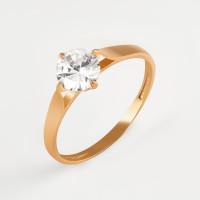 Золотое кольцо с фианитами РЫ1773441