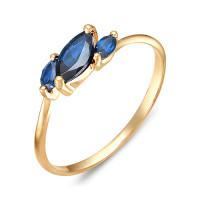 Золотое кольцо с топазами ЮИК120-1883тл